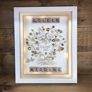 Anniversario Di Matrimonio 50 Anni Regali.Scatola Telaio Scarabeo D Oro Perla Rubino Diamante Anniversario