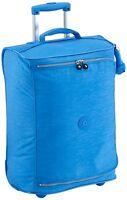Kipling Teagan Xs Cabin Sized 2 Wheeled Trolley Suitcase, 50 Cm, Sky Blue