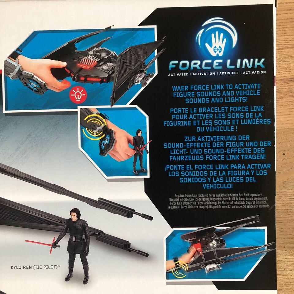 NY uåbnet Star Wars Tie Silencer (Force Link), Hasbro Star