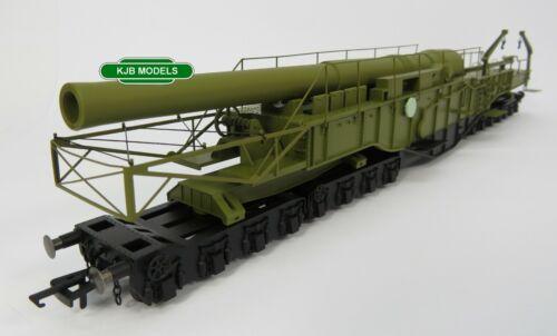 BNIB OO GAUGE OXFORD RAIL OR76BOOM02 Railgun Gladiator WWII