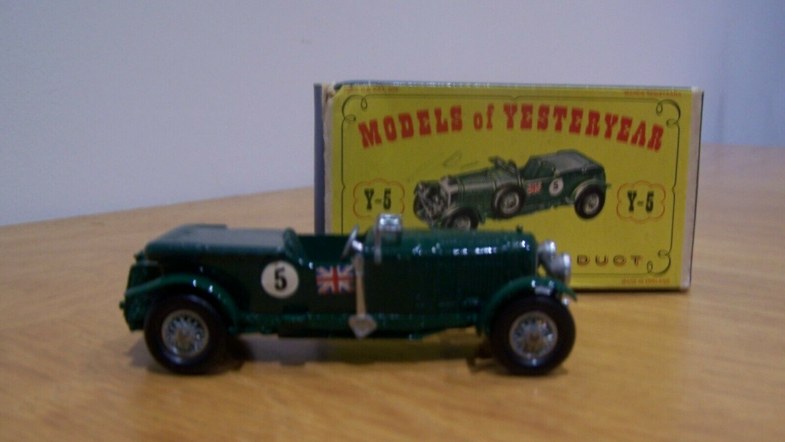 Matchbox Lesney 1929 4.5 Litre Blower Bentley Y-5
