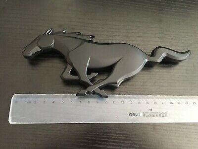 2015-17 Mustang GT Rear Running Horse Emblem Matte Black Official Licensed 8.2/'