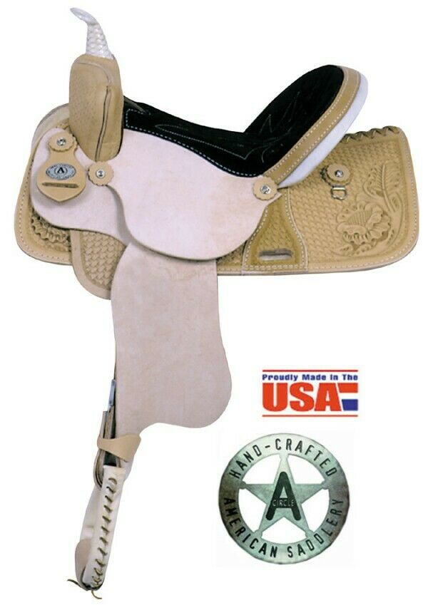 American Saddlery 15  Western  The American Barrel  Saddle