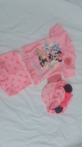 PRIMARK DISNEY BABY MINNIE MOUSE SUN PROTECTION SWIMSUIT SET..BNWT..ALL AGES