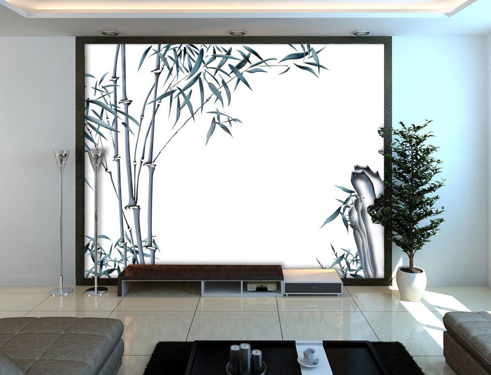 3D Bambusmalerei 503 Tapete Tapeten Mauer Foto Familie Tapete Wandgemälde DE
