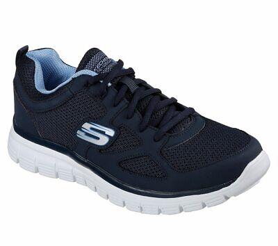 Details zu Skechers Burns Agoura, Herren Sneaker Memory Foam Navy, Gr. 39 48,5