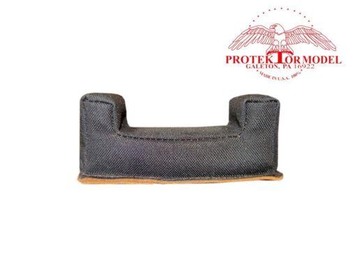 """PROTEKTOR MODEL 3/"""" SQUARE EAR CORDURA FRONT BAG FOR FARLEY BENCHREST"""