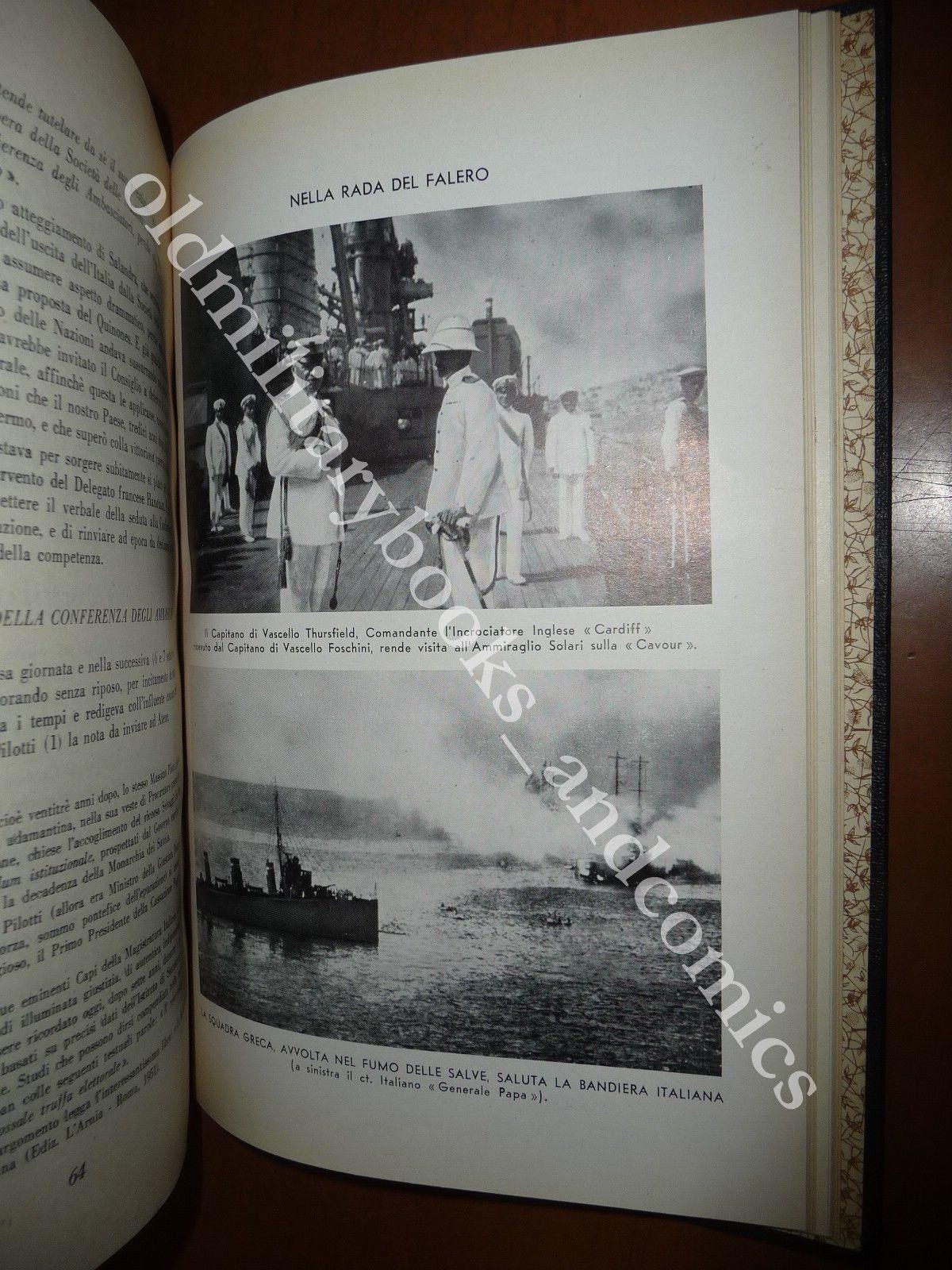 LA VERITA' SULLE CANNONATE DI CORFU' ANTONIO FOSCHINI 1953 MARINA GIANNINA 1923