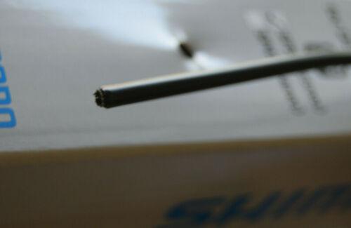 Grundpreis €1,35//1m Shimano SP51 Bremsleitung Außenhülle schwarz 10 Meter
