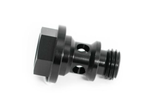 M12x1,5 Vergaser-Hohlschraube für Weber Vergaser schwarz