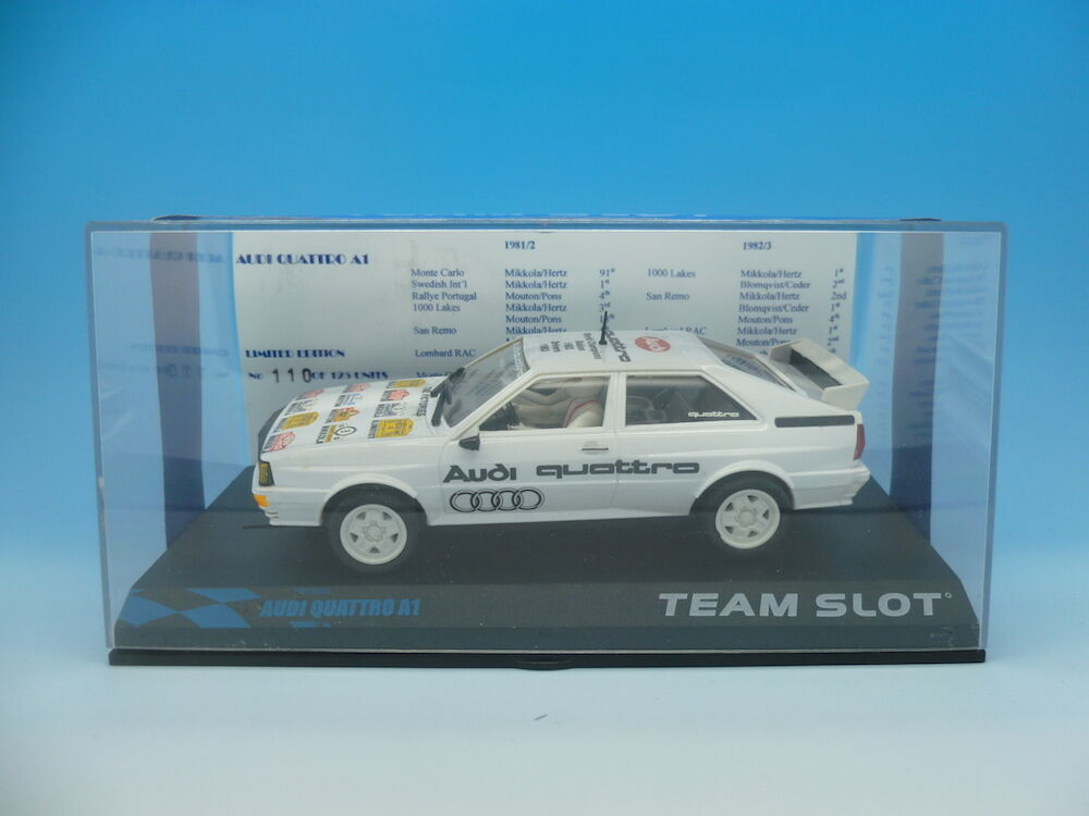 Team SLOT AUDI QUATTRO A1