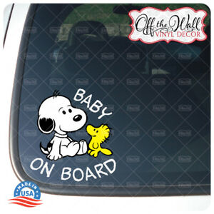 Baby-Snoopy-Dog-034-Baby-Kid-or-Kids-on-Board-034-BUYERS-CHOICE-Sign
