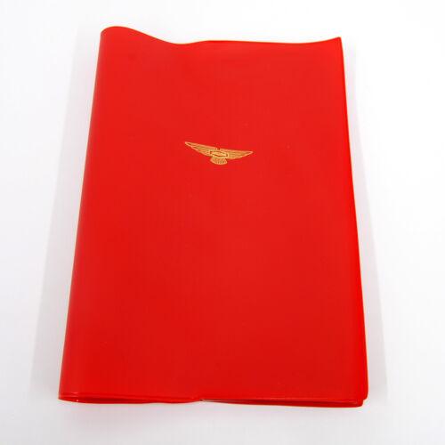 & XK150 Red Manual Cover E1226RED Jaguar E-Type 1961-1964 Wheel ...