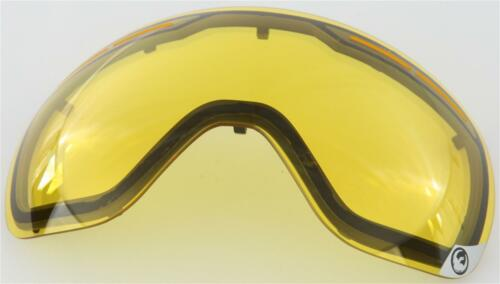 DRAGON X1S DUAL REPLACEMENT LENS YELLOW 294687018501