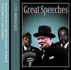 Great Speeches by HarperCollins Publishers (CD-Audio, 2003)