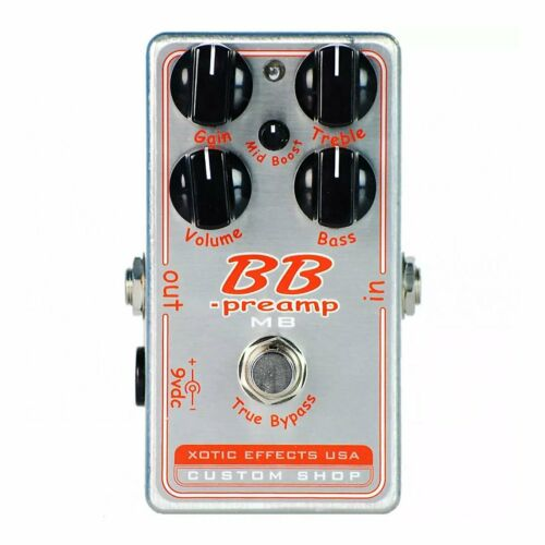 Mid-Boost Control Xotic Effects BB PREAMP BBP-MB Distortion Overdrive NEW