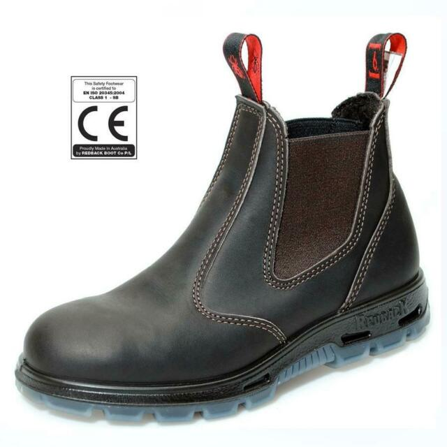 0ba9c72f07c REDBACK Bobcat Australian Safety Boots CE Certified Steel Toe Cap USBOK  Brown