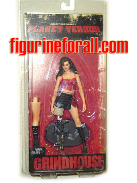 "NECA Grindhouse Movie CHERRY 7"" Action Figure Rose McGowan Sealed Planet Terror"