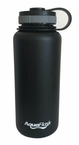 AquaFlask 32oz Insulated Stainless Steel Bottle - Wide Mouth