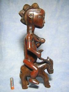 AFRICANTIC-CAVALIER-BAOULE-ART-PRIMITIF-AFRICAIN-ANCIEN-STATUE-AFRICAINE-AFRIQUE