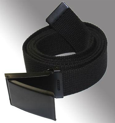 Boys Team Valor Flip Top Military Belt Buckle with Canvas Web Belt