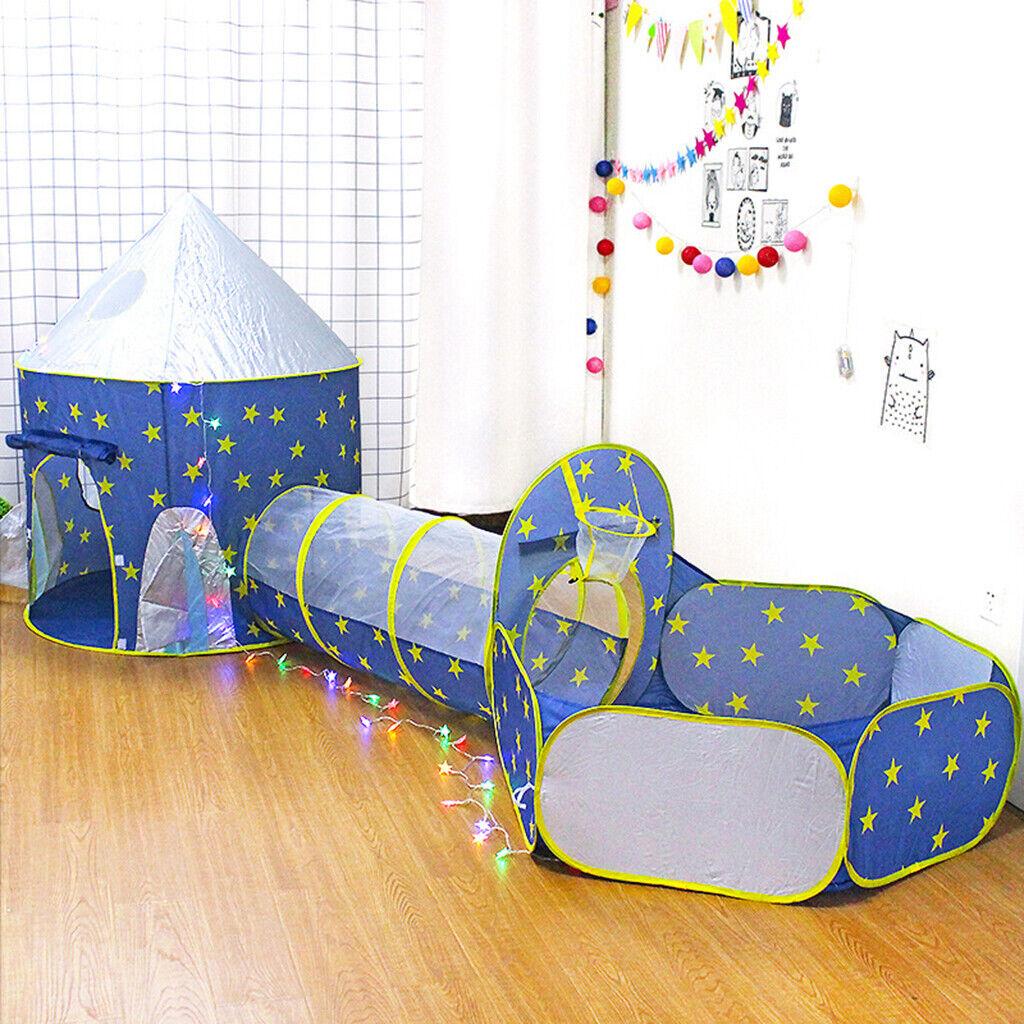 3-teilig Pop Up Spielzelt Bällebad Bällebad Bällebad Spielzelt Kinderzelt + Tunnel + f0cda6