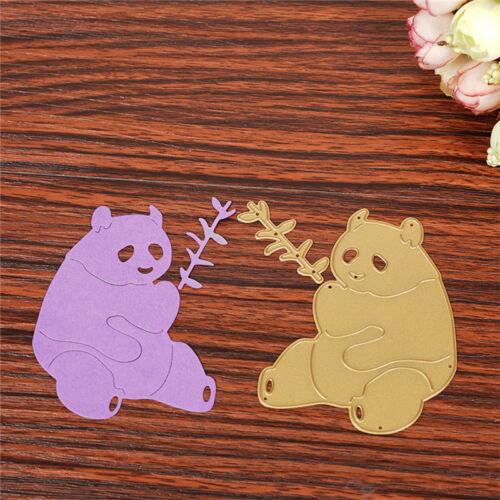 Panda Cutting Dies Stencil  Scrapbooking Album Kartes Tagebuch Stanzschablone.