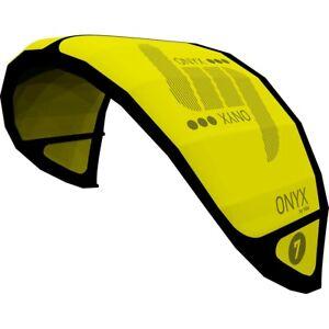 HQ4-Lenkmatte-Onyx-7-0-Kite-Only-gelb-Lenkdrachen-Depower-Tube-Kite