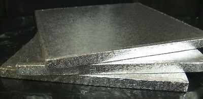 Pack Of 5 Silver Cake Boards Square 13 Quot X9 Quot Thick Drum