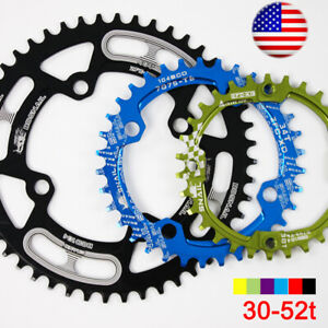 30-52T-104BCD-CNC-Aluminum-alloy-Narrow-Wide-MTB-Road-Bike-Chainring-Crank-set