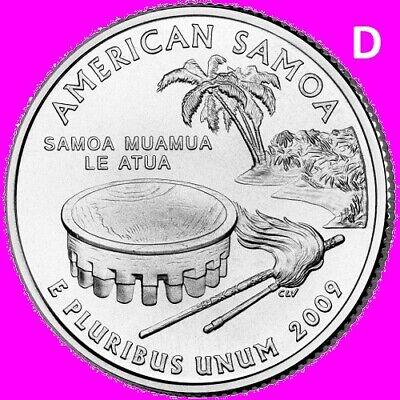 2009 P GUAM Quarter DC /& US Territory State Phladelphia ~ UNC Uncirculated 2nd