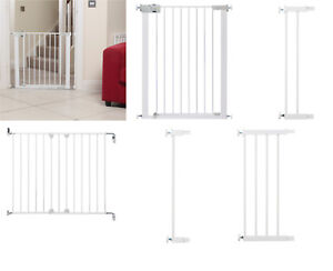 Baby Infant Safety Stair Wall Metal Gate Simply Close