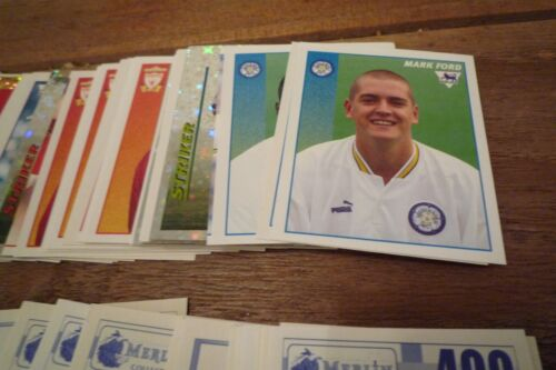 Pick Stickers You Need Merlin Premier League 97 Football Stickers no/'s 201-400