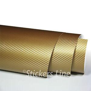 Pellicola-adesiva-carbonio-ORO-3D-cm-50x200-car-wrapping-auto-moto-carbon-gold