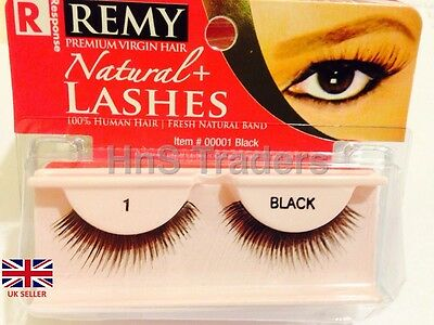 Response Natural+ Eye Lashes 100% Human Hair 1 on SPECIAL OFFER