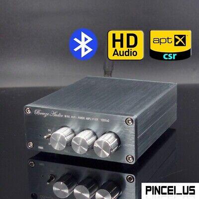 100w 2 Mini Hifi Power Amplifier Csr8675 Bt5 0 Tpa3116 Support Aptx Hd Bl50a Pe6 Ebay