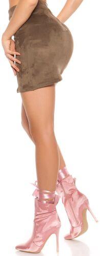 Met lint Gr Nieuwe High ♡ satijnen Satijnen enkellaarzen look Heels 37 Pink Exclusieve 0x6xfw4q