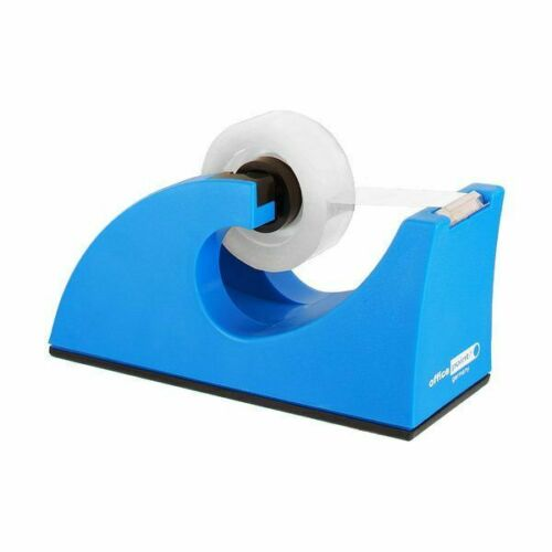 Office Point Tischabroller Kleberoller blau für 19x33 mm Tischabroller Abroller