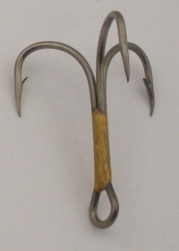 Eagle Claw 374F #6 50Ct 2X Bronze Treble Hooks 7063