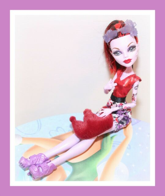 ❤️Monster High Operetta Boo York Frightseers Phantom Doll with Outfit Shoes❤️