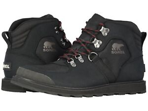 80f3c06d371 Details about Sorel Madson Sport Hiker Waterproof Boots Men's Winter Snow  Hiking Leather