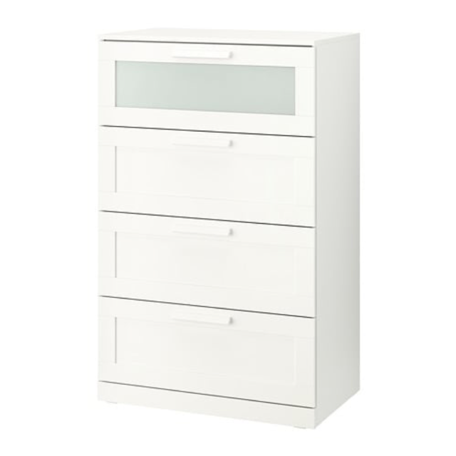 Ikea Brimnes 4 Drawer Dresser White
