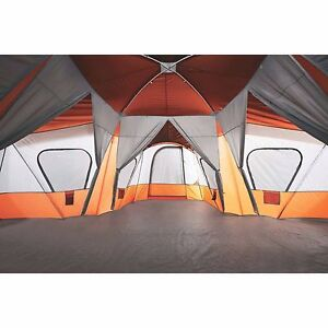 large camping tent outdoor picnic travel family cabin house 14