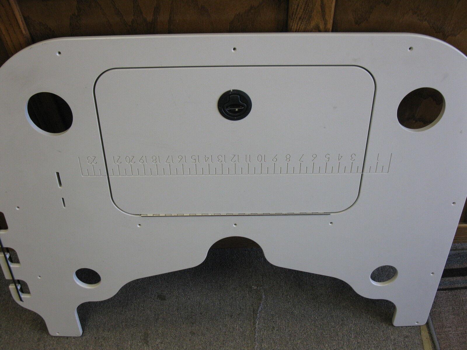 Suncather boat fishing console has cutting table tan 46 46 tan inches long f1e337