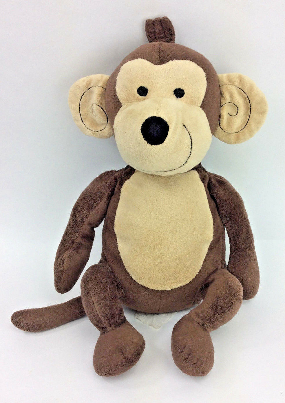Kmart Monkey marrone Pillow Plush Stuffed Animal 18  Smiling Victoria Classics