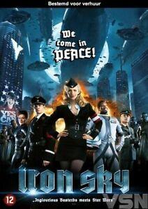 DVD  -  IRON SKY  -  2012 - JULIA DIETSE  (NEW / NIEUW / SEALED)