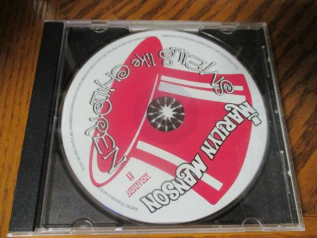 MARILYN MANSON SMELLS LIKE CHILDREN CD OPENED BUT IN NEAR MINT CONDITION