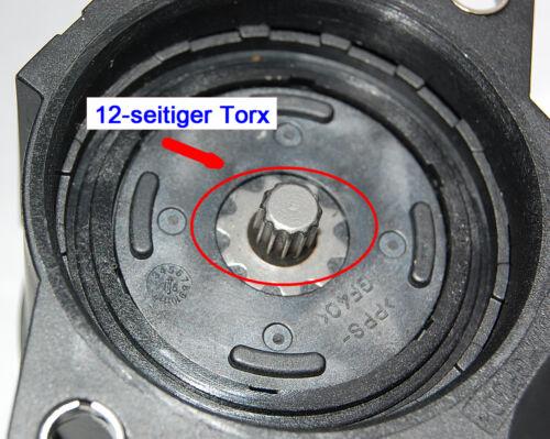 STELLMOTOR FESTSTELLBREMSE 12-TORX VW PASSAT AB 05.2007 TIGUAN AUDI Q3