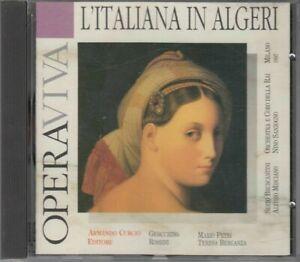 L'ITALIANA IN ALGERI di G. Rossini Opera Viva CD Audio Musicale