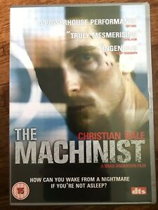 The-Machinist-DVD-2004-Crime-Thriller-Drama-Film-Movie-with-Christian-Bale-DTS